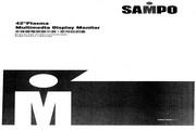 声宝 PM-42HL型多媒体电视显示器 说明书