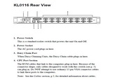 宏正KL0116型多电脑切换器说明书
