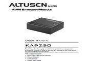 宏正KA9250型多电脑切换器说明书