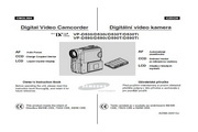 三星VP-D590型电池充电器说明书