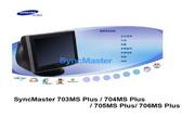 三星 706MS Plus显示器 使用说明书