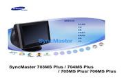 三星 703MS Plus显示器 使用说明书