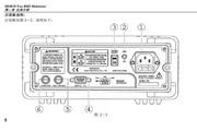 华谊MS8050型数字多用表使用说明书