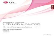 LG E2381VR液晶显示器 使用说明书