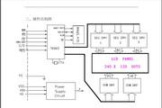 瑞通CM24028-3SLYB图形点阵液晶显示模块说明书