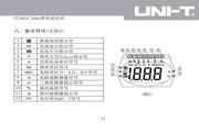 优利德UT206A数字钳形表使用说明书