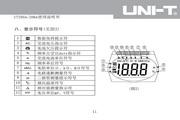 优利德UT205A数字钳形表使用说明书
