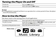 索尼MP3随身听NWZ-B153F型说明书