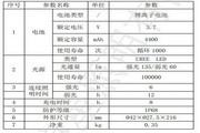 天狼星JW7210节能强光防爆电筒产品说明书