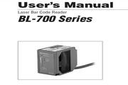 基恩士BL-700 系列长距离激光条码读取器说明书