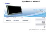 三星 570DXn液晶显示器 使用说明书