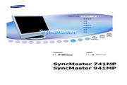 三星 941MP液晶显示器 使用说明书