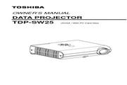 东芝 TDP-SW25投影机 英文使用说明书.