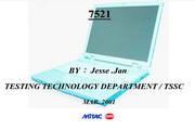 MiTAC 7521C笔记本电脑说明书