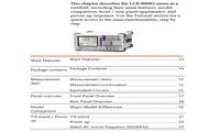 固纬LCR-8105G高精度LCR测试仪使用说明书
