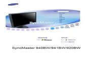 三星 941BW液晶显示器 使用说明书