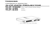 东芝 TLP-T50M投影机 英文使用说明书