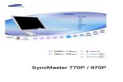 三星 970P液晶显示器 使用说明书