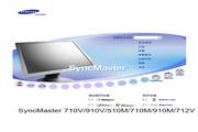 三星 910M液晶显示器 使用说明书