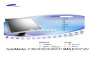 三星 510M液晶显示器 使用说明书