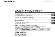 SONY VPL-CX61投影机 说明书
