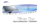 三星 720NA液晶显示器 使用说明书