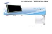 三星 820DXn液晶显示器 使用说明书