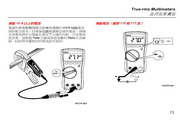 福禄克Fluke 114电气测量万用表使用说明书