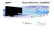 三星 225BW液晶显示器 使用说明书