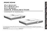 理光PJ X3131投影机 英文使用说明书