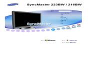 三星 223BW液晶显示器 使用说明书
