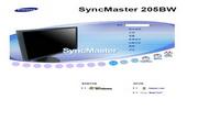 三星 205BW液晶显示器 使用说明书