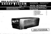夏普 XG-3780E投影机 英文使用说明书