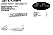 夏普 XG-3910E投影机 英文使用说明书
