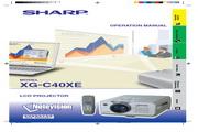 夏普 XG-C40XE投影机 英文使用说明书