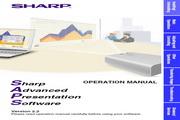 夏普 XG-P10XE投影机 英文使用说明书