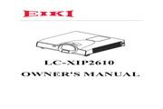 爱其 LC-XIP2610投影机 英文使用说明书