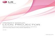 LG CF3D投影机 英文使用说明书