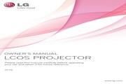 LG AF115投影机 英文使用说明书