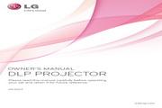 LG HX350T投影机 英文使用说明书