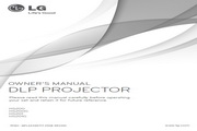 LG HS201投影机 英文使用说明书