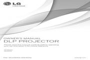 LG HX301G投影机 英文使用说明书