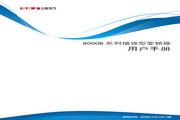 三晶 8000B-4T250G增强型变频器 用户手册