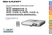 夏普SHARP XG-MB65X-L投影机 英文使用说明书