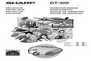 夏普SHARP DT-300投影机 英文使用说明书