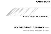欧姆龙(OMRON) 3G3MV-CB4037变频器 说明书