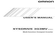 欧姆龙(OMRON) 3G3MV-CB4007变频器 说明书