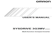 欧姆龙(OMRON) 3G3MV-CB4002变频器 说明书