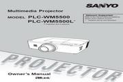 三洋 PLC-WM5500投影机 英文使用说明书