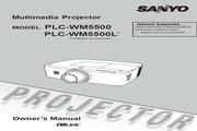 三洋 PLC-WM5500L投影机 英文使用说明书